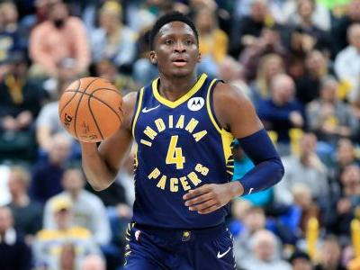 Victor Oladipo taken off court on stretcher after suffering apparent serious leg injury vs. Raptors