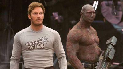 Star-Lord and Drax are Locked and Loaded in New Guardians 2 Photo