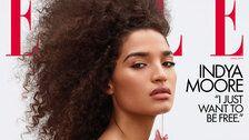 Indya Moore Looks Like An 'Angel' As Elle's First Transgender Cover Star