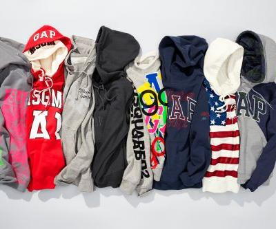 GQ and Gap partner for hoodie collection with cool designers