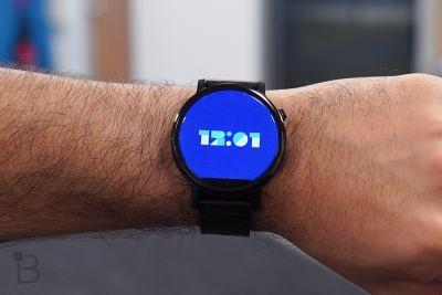 Don't expect a new Moto 360 anytime soon