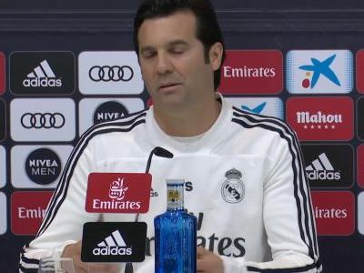 Solari excited to share sideline with Simeone in Madrid derby