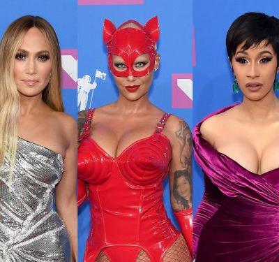The 30 best - and wildest - outfits celebrities wore to the 2018 MTV Video Music Awards