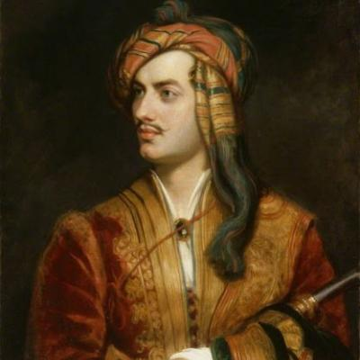 Lord Byron in Albanian Dress