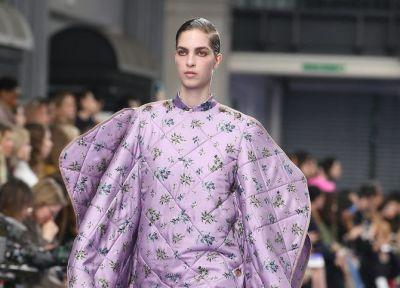 Mulberry and Preen just made it okay to wear your duvet to work