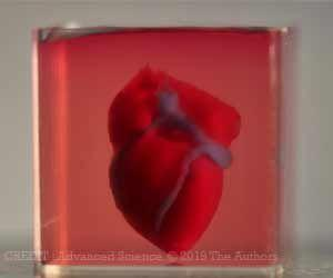 World's First 3D-Printed Heart Made Using Patient's Biological Materials