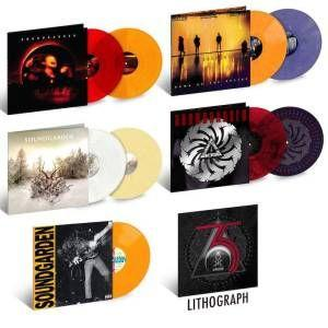 Soundgarden launch 35th anniversary vinyl series