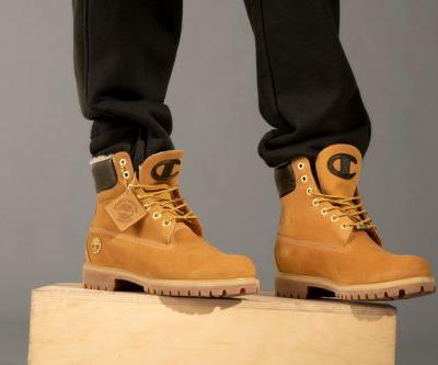 Timberland & Champion Launch New Apparel and 6-Inch Boot Collection