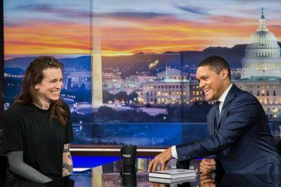 Laura Jane Grace Talks About Her Book and Being a Trans Parent on 'The Daily Show'