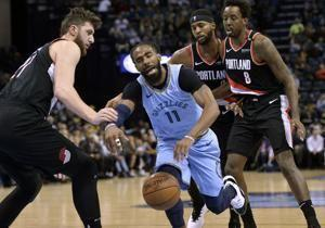 Conley's career-high sends Grizzlies past Portland 120-111