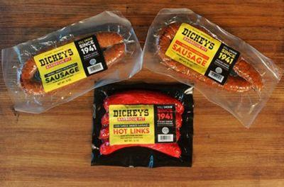 Dickey's Barbecue Pit Now Sells Signature Sausages in Select Texas Kroger Stores