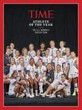 The US Women's Soccer Team Is TIME Athlete of the Year - You Bet They're Doing a Power Pose