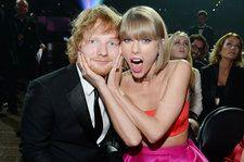 Taylor Swift & Ed Sheeran Are Pretty Sure Drake Will Beat Them at 2018 AMAs: Watch the Video