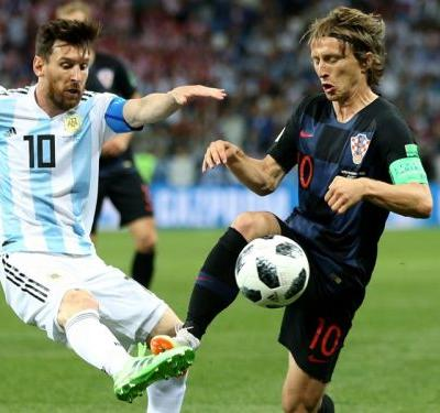 'It's not going to go to Messi' - Modric backed to take Golden Ball from Argentina star