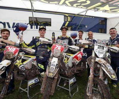 PASCAL RAUCHENECKER CLAIMS ENDURO 2 CLASS VICTORY AT GP OF GREAT BRITAIN