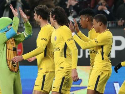 Ninja Turtles invade pitch in PSG clash to unite with 'Donatello' Mbappe