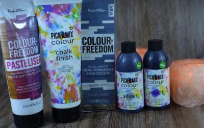 Superdrug's Colour Freedom Pastel Creative Hair Colours!
