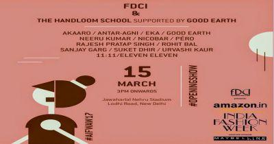 FDCI Announces The Opening Show At AIFW A/W and 039;17