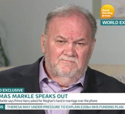 "Meghan Markle's Dad Won't Stop Calling Her Wedding the ""Greatest Moment in History"""