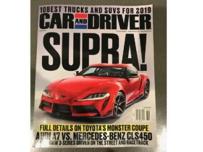 If You Needed Any More Confirmation, Here's the New Supra on the Cover of Car and Driver