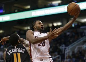Adebayo's career-high 22 points helps Heat beat Suns 115-98