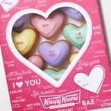 Spread the Love This Valentine's Day With Krispy Kreme's Conversation Heart Doughnuts