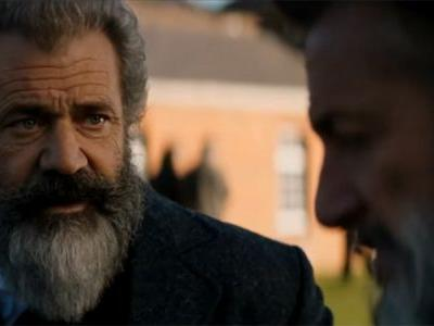 Mel Gibson & Sean Penn in The Professor and The Madman Trailer