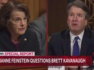'It's an outrage': Brett Kavanaugh gets into a heated exchange with Sen. Dianne Feinstein as he refutes sexual assault allegation