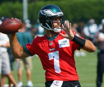 Eagles trade Joe Flacco back to Jets after Zach Wilson's injury