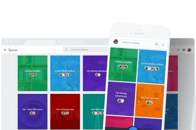 Google is shutting down Spaces, its experimental group messaging app