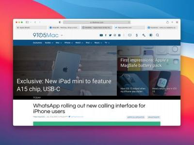 Apple releases Safari Technology Preview 128 with updated tab interface
