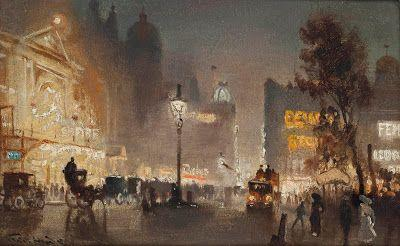 George Hyde Pownall, The Empire, Leicester Square