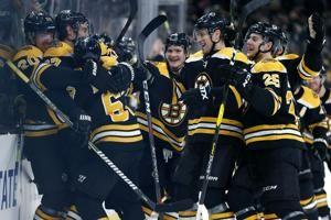 Marchand does it again in OT as Bruins beat Blue Jackets 2-1