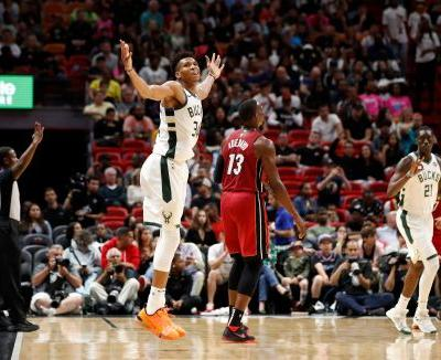 Down by 20 at halftime, Bucks crush Heat with historic comeback