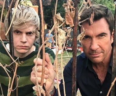 'American Horror Story: Apocalypse': Dylan McDermott is Back On Set With Evan Peters