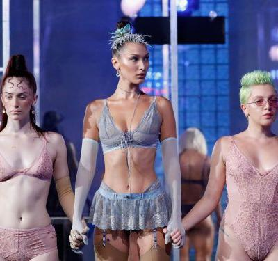 Rihanna's Savage X Fenty lingerie fashion show was a celebration of diversity and body positivity-and included two pregnant women on the runway
