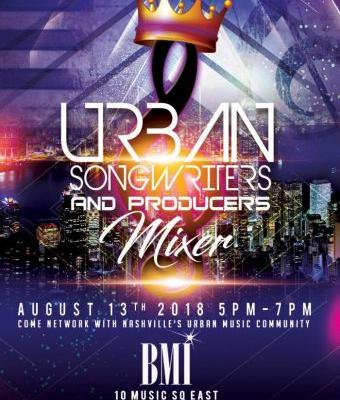 Events: Urban Songwriters & Producers Mixer: Nashville, TN