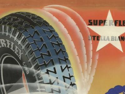The Vintage PirelliStella Bianca Tire Is Back to Make Classic Cars Ride Horrible Again