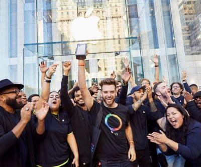 Apple celebrates iPhone 11 by sharing launch day photos