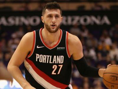 NBA players show support for Trail Blazers' Jusuf Nurkic following gruesome leg injury