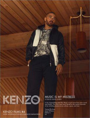 Kenzo Taps Jesse Williams for Spring '17 Ad Campaign