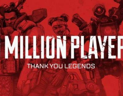 Apex Legends only took 3 days to reach 10 million, Fortnite took 2 weeks