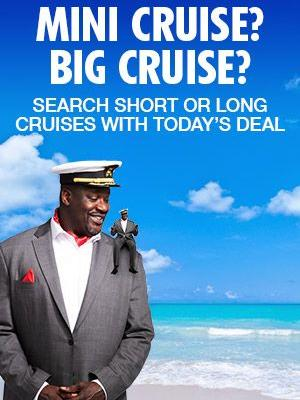 'Mini CFO' Version of Carnival CFO Shaquille O'Neal Debuts to Promote Short Cruise Offerings