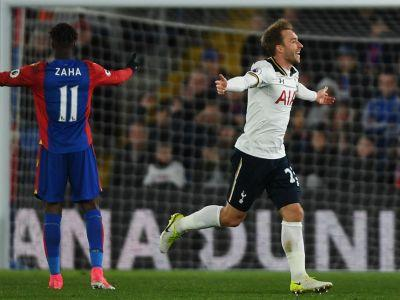 Crystal Palace 0 Tottenham 1: Eriksen ensures Spurs remain in title hunt