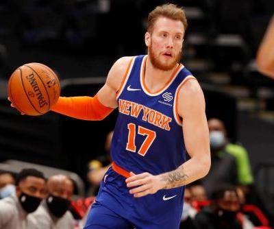 76ers waive Ignas Brazdeikis two weeks after acquiring him from the Knicks