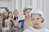 Models Walked Down the Runway With Shampoo in Their Hair at This Couture Show