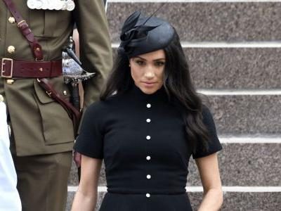 Meghan Markle Wore a Thing: Bespoke Emilia Wickstead Dress in Australia Edition