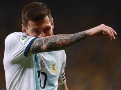 Messi suspended three months by CONMEBOL