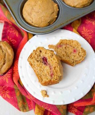 Peanut Butter and Jelly Muffins {Whole Wheat}