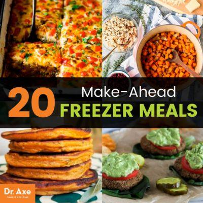 20 Make-Ahead Freezer Meals that Are Delicious, Healthy & Cheap